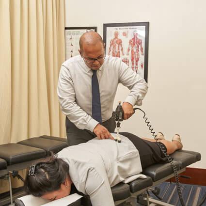 Dr Janfrional spinal manipulation