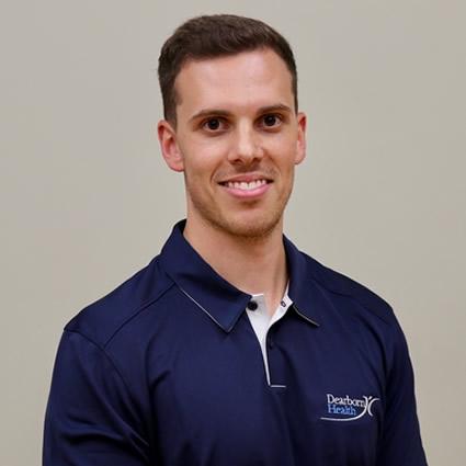 Dan Southwell, Dearborn Health physiotherapist