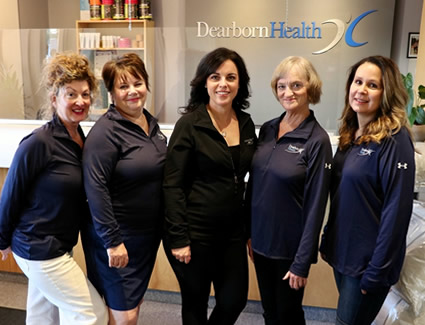 Dearborn Health office staff