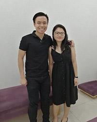 Dr Chen wiht Cherish
