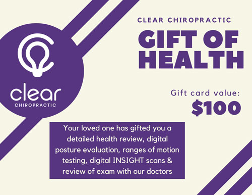 Gift of health card