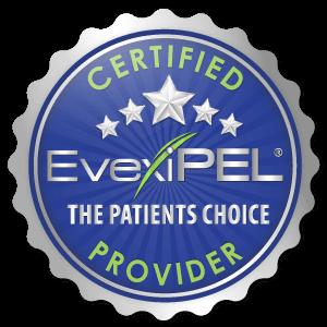 EvexiPEL Certified Provider Seal