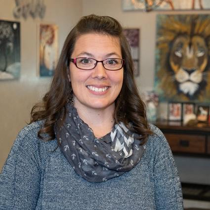 SpineGeek Chiropractic Front Desk, Heather Aguero