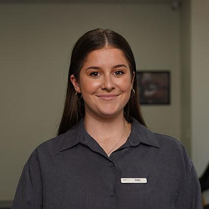 Sally, Dental Circle front desk coordinator