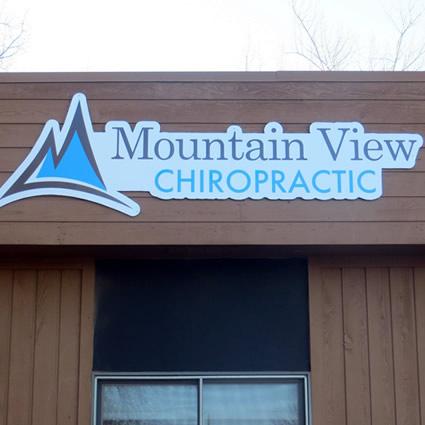 Building exterior sign