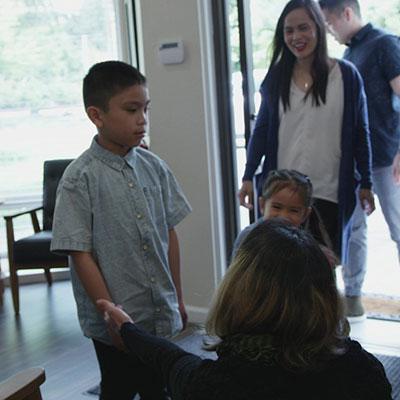 Family entering practice
