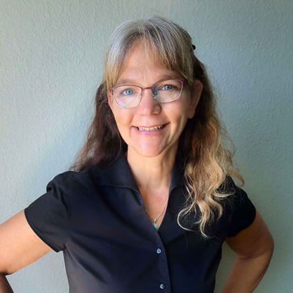 Dr. Jill smiling