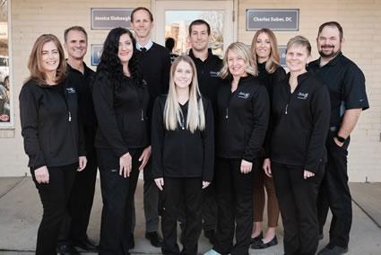 Ballas Chiropractic team