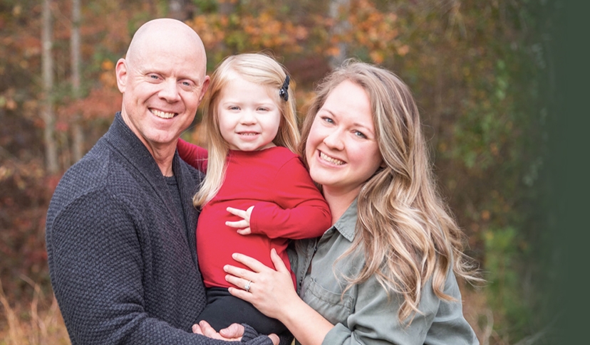 Dr. Kelly with her family