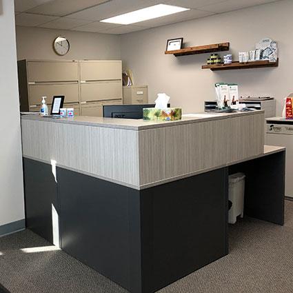 Essential Chiropractic Inc reception desk