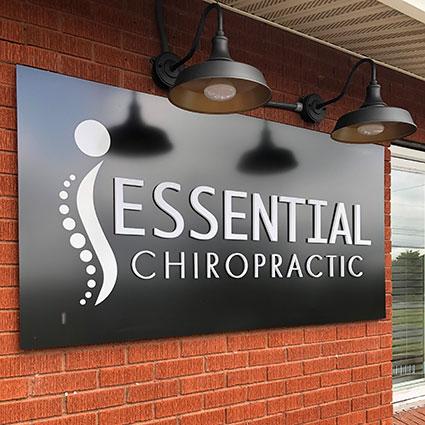 Essential Chiropractic Inc exterior sign