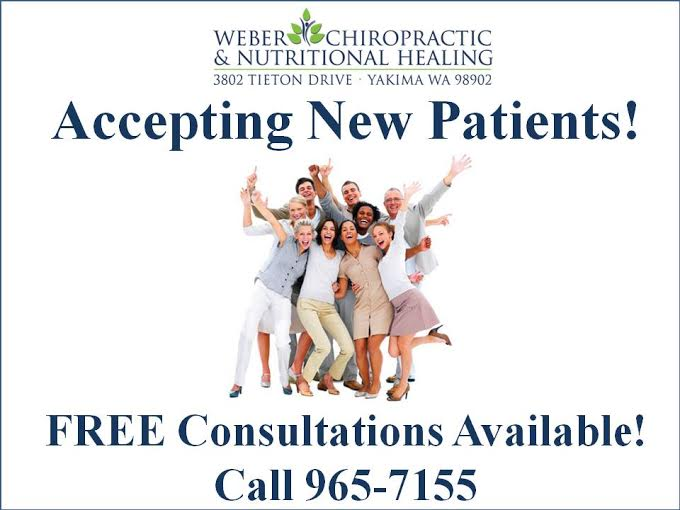 Accepting New Patients flyer.