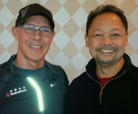 Dr. Jeff Spencer, Tour De France Sports Chiropractor with Dr. Dennis Mariano