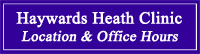 Haywards Heath Chiropractic Clinic