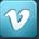 Vimeo social button