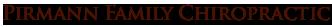Pirmann Family Chiropractic logo - Home