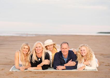 Dr. Calhoun and family