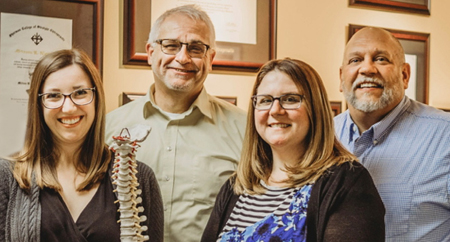 The doctors of Balanced Living Chiropractic Wellness