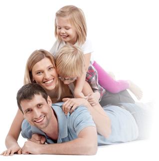Happy Chiropractic family image