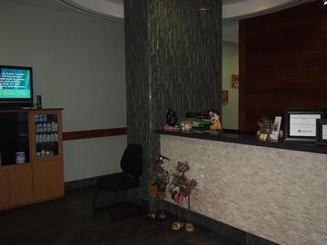 Irvine Spine & Wellness Center reception area