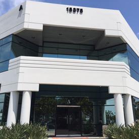 Front of Practice Building