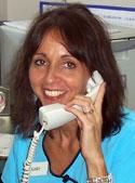 Mary, receptionist