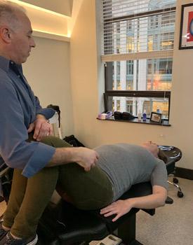 Prenatal adjustment taking place.