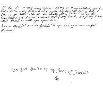 Thank You Notes Wichita, KS | Wheeler Chiropractic