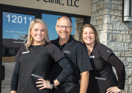 Wheeler Chiropractic & Acupuncture Clinic team outside