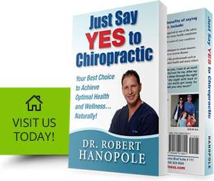 Just Say Yes to Chiropractic book