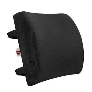 Lumbar support back cushion