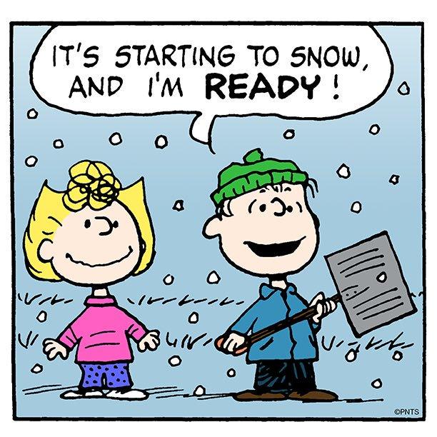 Peanuts Snow