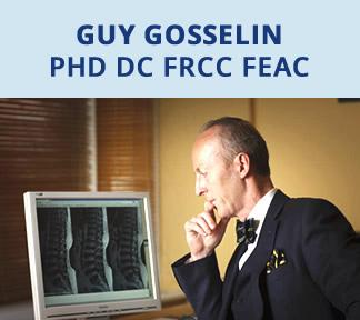{PJ} chiropractor, Guy Gosselin