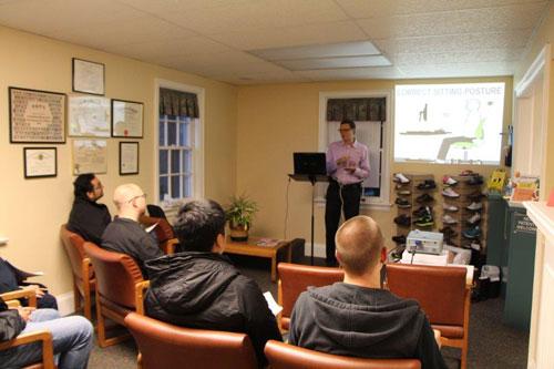Dr. Scott Martin presenting