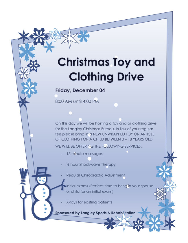 Christmas Toy & Clothing Drive