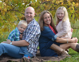 Dr. Mike Schwartz and family