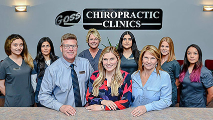 Goss Chiropractic Clinics' team