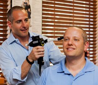 Dr. Joe Cranial adjusting