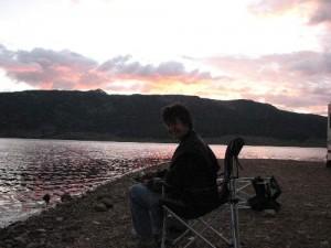 Oak Forest/ Garden Oaks Chiropractor fishing in Colorado