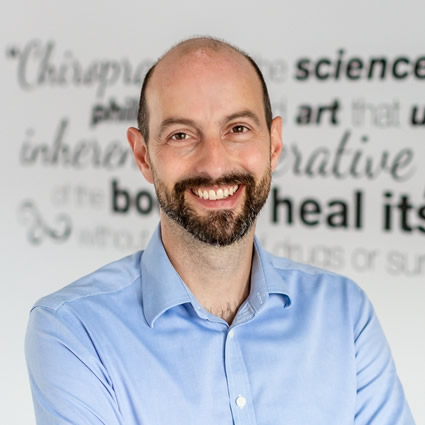 Chiropractor Cobham, Dr Toby Colliver