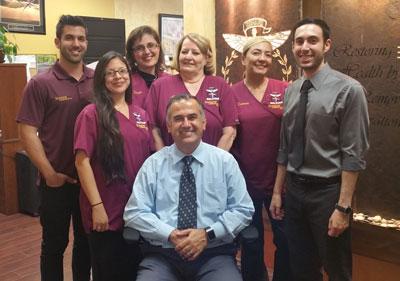 Mansour Chiropractic team