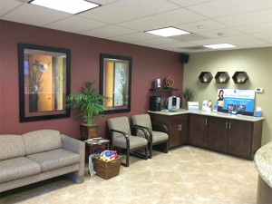 San Diego Chiropractic reception