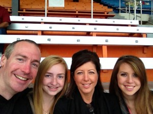 Auburn Chiropractor  Dr. Darren Avise and family