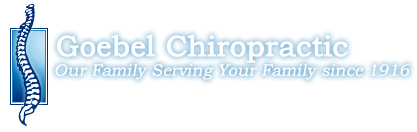 Goebel Chiropractic logo - Home