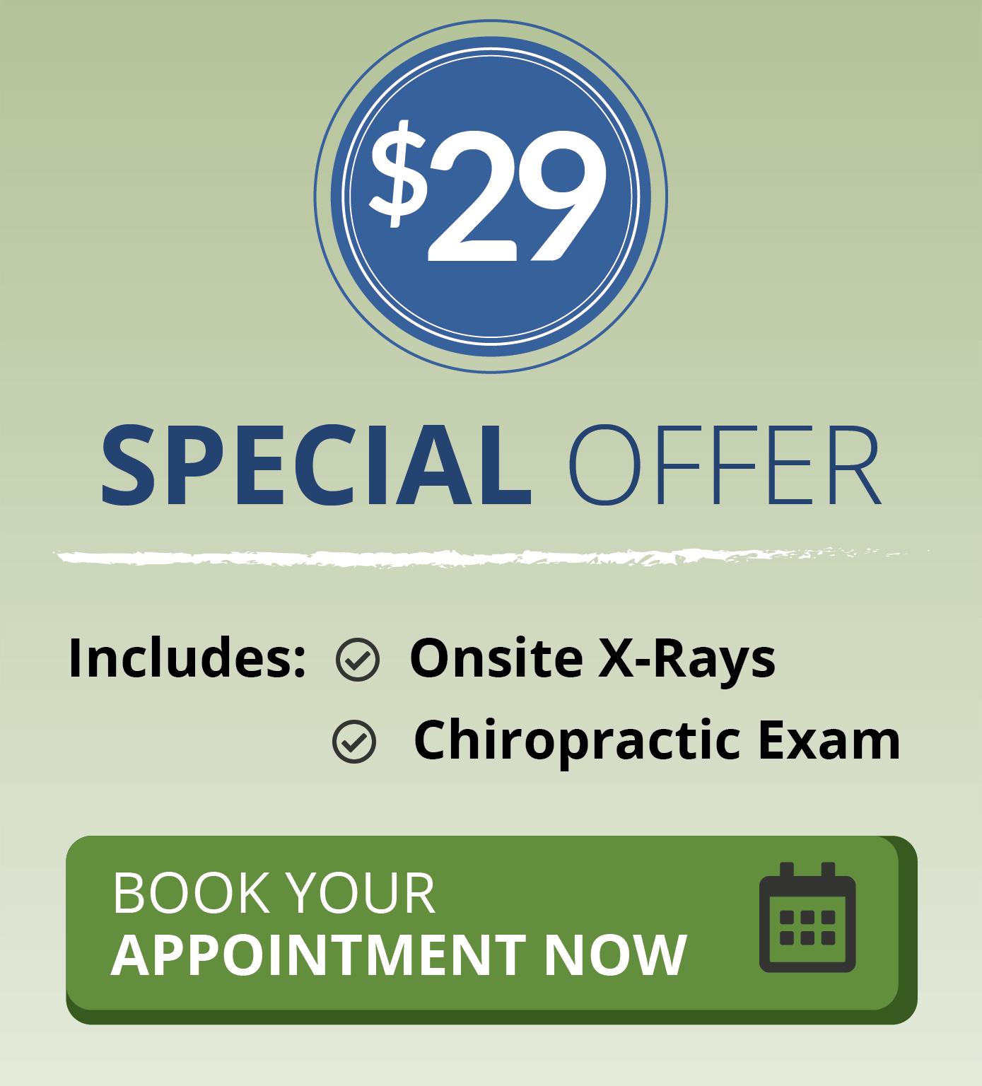 $29 Same-Day Chiropractor