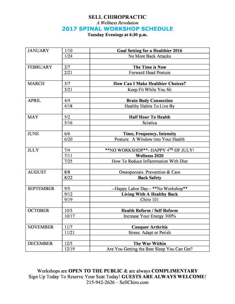 sws 2017schedule