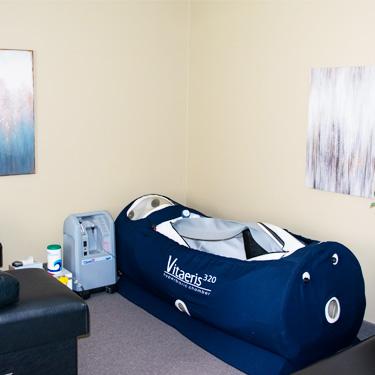 Hyperbaric Treatment room