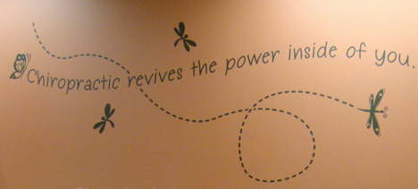 Chiropractic revives the power inside of you.