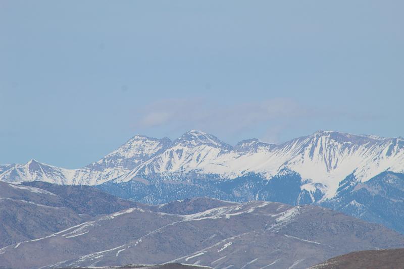 Mount Borah, Highest Peak in Idaho - Ken Swaim, 3/7/21