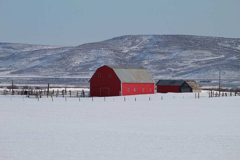 Camas Prairie Barn - Ken Swaim 3/7/21
